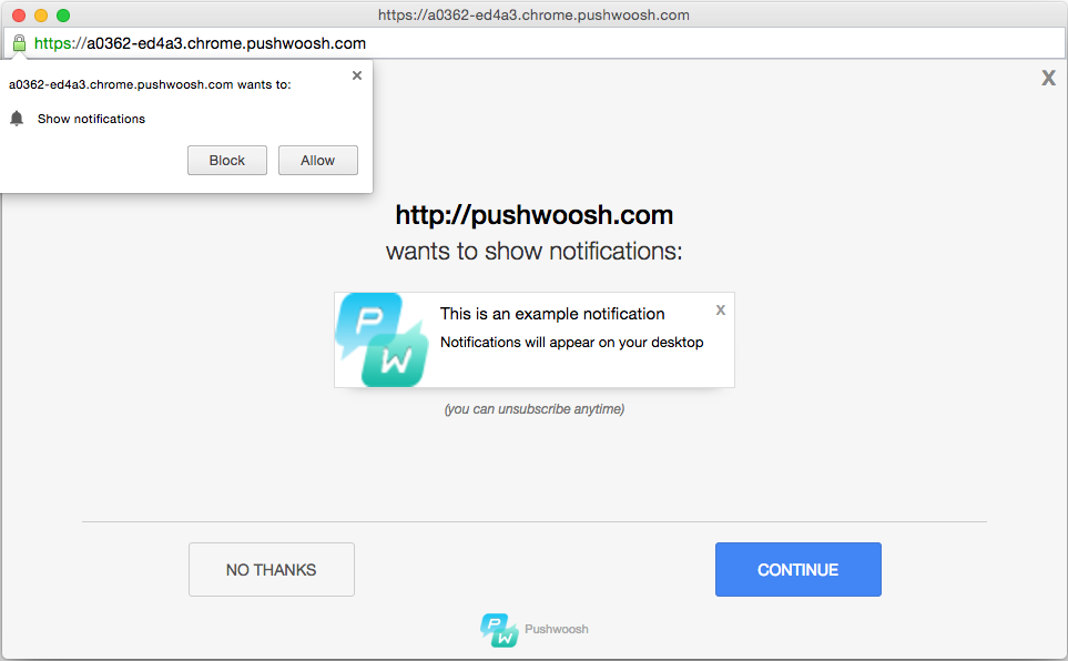 No More Restrictions Using Push Notifications For HTTP Websites!