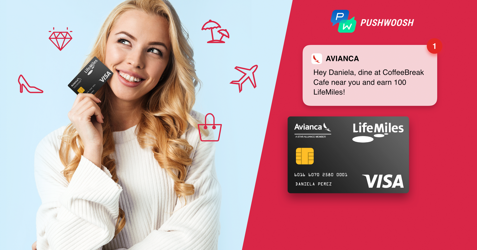 Lifemiles Inc. automates its loyalty program with Pushwoosh Geozones