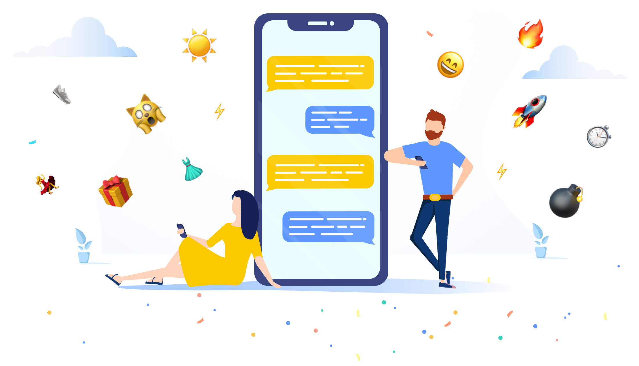 Emojis increase push notifications CTR by over 100%