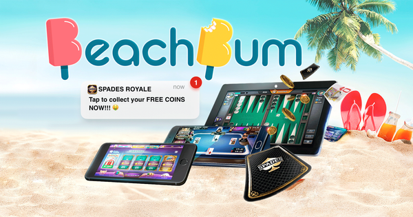 Beach Bum re-engages gamers and boosts in-app purchases
